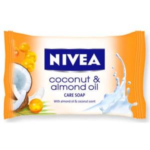 Nivea Care Soap Coconut & Amonnd Oil 90 g