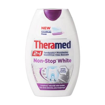 Theramed Non-Stop White 75 ml